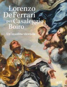 Copertina volume Lorenzo De Ferrari per Casaleggio Boiro