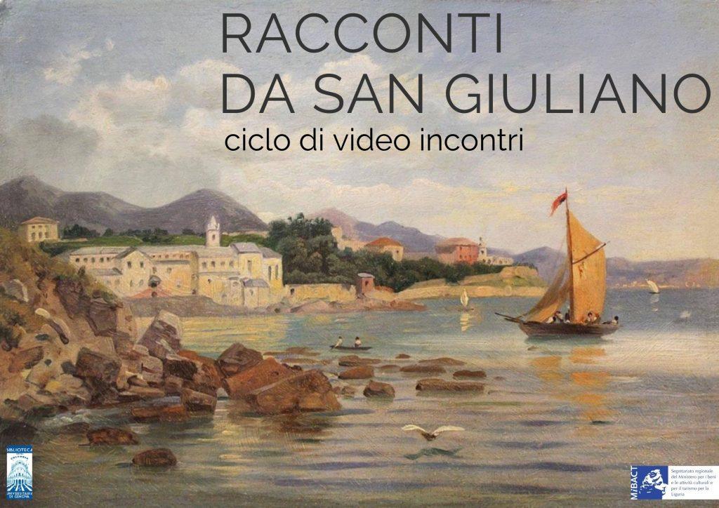 Illustrazione del ciclo di video conferenze intitolato Racconti da San Giuliano
